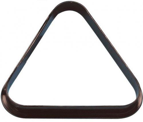 American Pool Ball Triangle 2 1/4 Inch Size Black