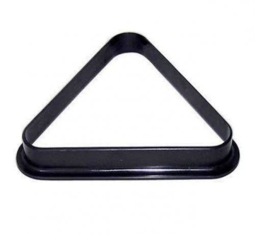 American Pool Ball Triangle 2 1/4 Inch Size Black