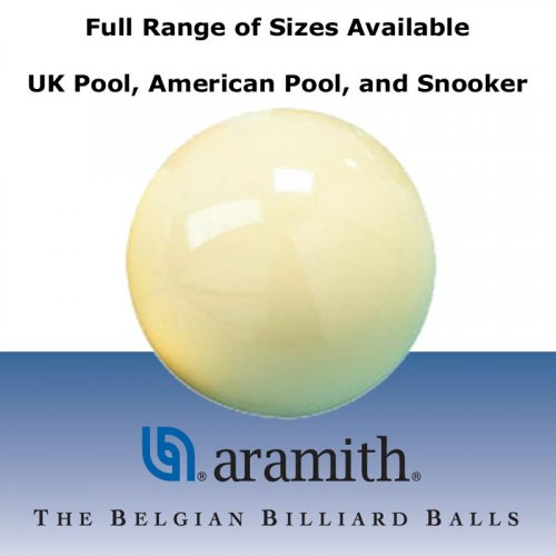 Aramith Pool and Snooker Cue Balls - All Sizes Available