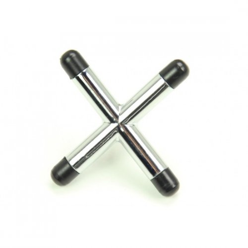 Chrome Cross Rest Head