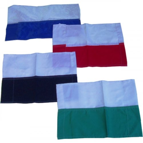 Football Corner Flags - Two Coloured Corner Flag (Price Per Flag)