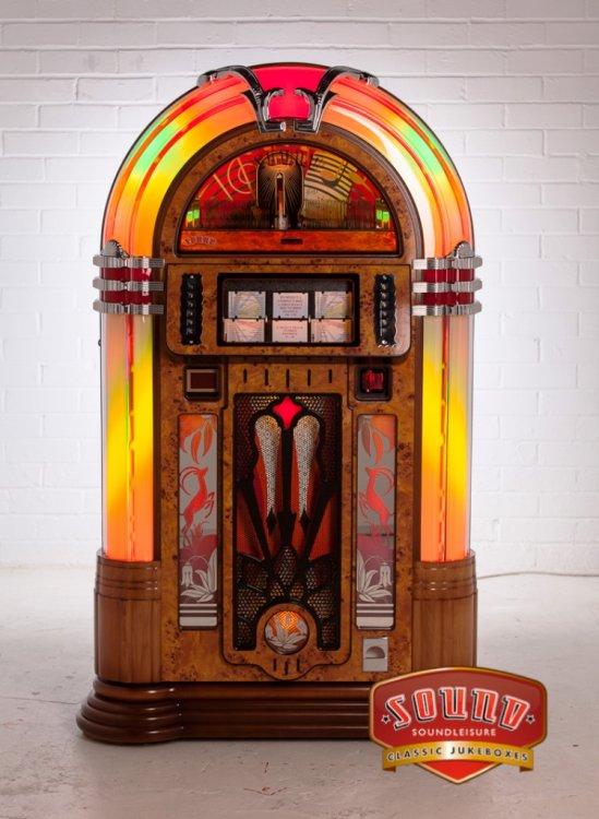 Sound Leisure Melody Slimline CD Jukebox | Homegames | Home