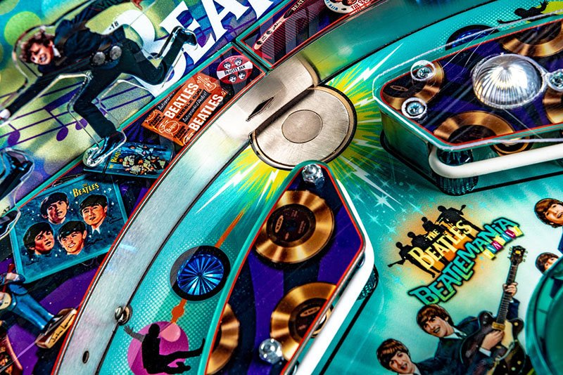 The Beatles Pinball Machine | Home Games