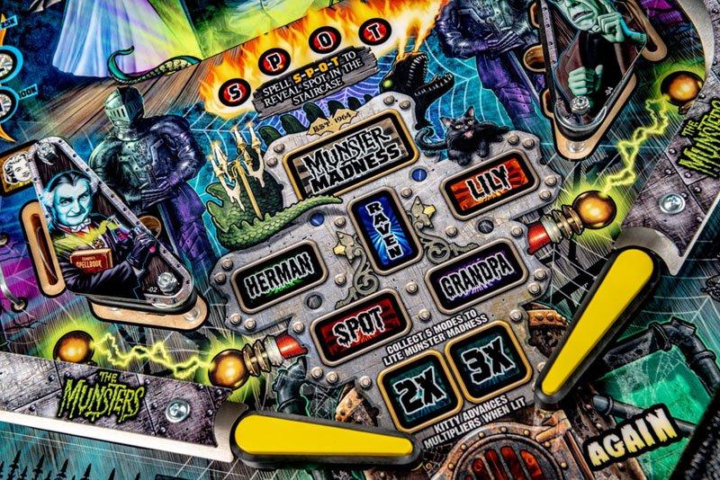 The Munsters Pinball Machine | Home Games